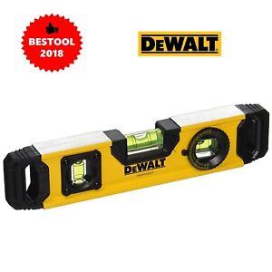 """Genuine New Dewalt Dwht 43003 Magnétique Torpille Niveau 9""""/230 Mm-afficher Le Titre D'origine"""