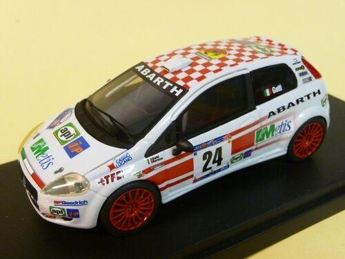 Fiat abarth grande punto diesel gr. R rallye Mille Miglia 2007 Racing 43 el132