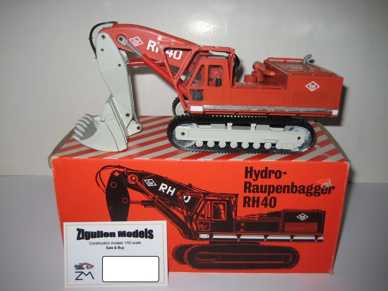 O&k Rh 40 Excavator Shovel Track Excavators Nzg 1 50 Boxed