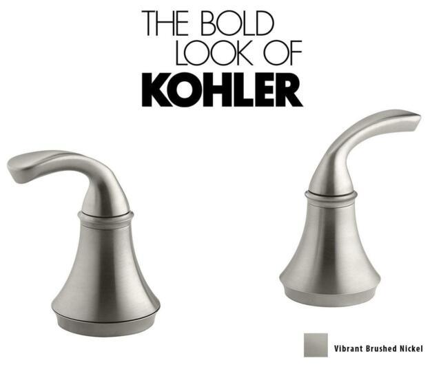 Vibrant Brushed Nickel KOHLER K-15285-4-BN Loure Deck-Mount Bath Faucet