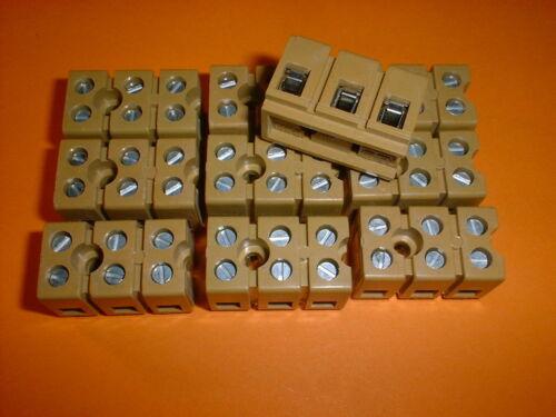 25A Weidmüller Klemme 2.5 mm² MK 3//3 10x 3-Pol 300V
