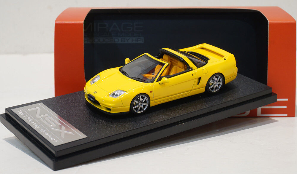 HPI 1 43 Honda NSX Type Type Type T Yellow Ignition 2fb82c