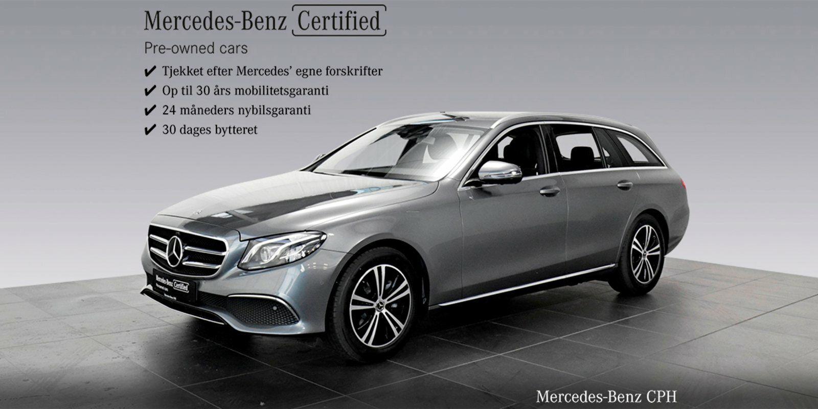 Mercedes E300 d 2,0 stc. aut. 5d