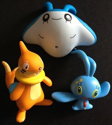 MANAPY   RARE POKEMON ACTION FIGURE 2/""
