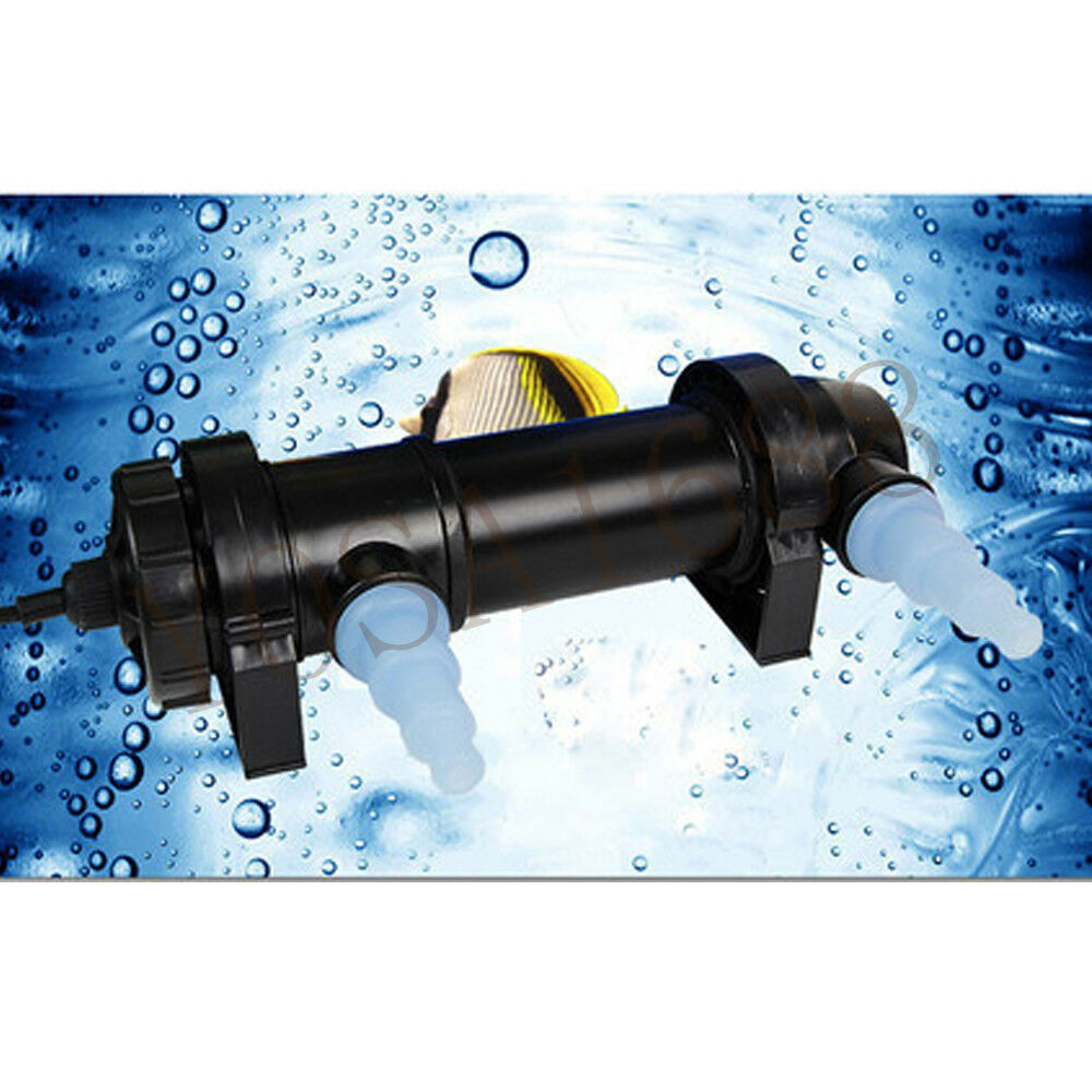1pc UV germicidal lamp Aquarium UV Sterilizer 5-36W Light Lamp Clarifier Pond