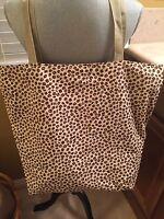 Handmade Large Coffee Bean Bag/tote/purse/handbag Sturdy 100% Cotton