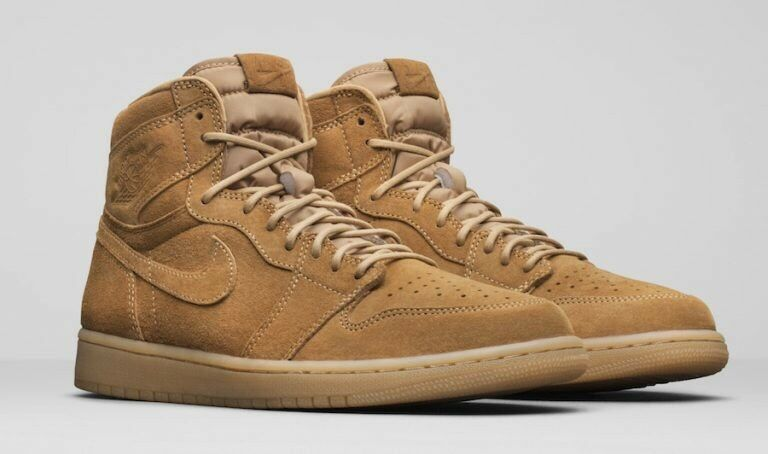 Nike Air Jordan Retro 1 High OG SZ 10.5 Wheat golden Harvest Flax 555088-710