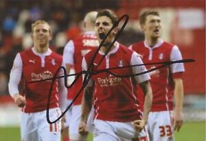 ROTHERHAM-MATT-DERBYSHIRE-SIGNED-6x4-ACTION-PHOTO-COA