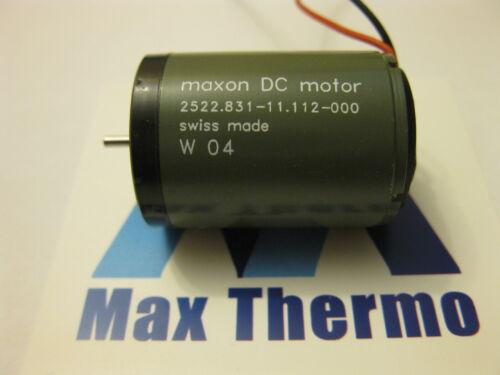 Swiss MAXON 12vDC Motor 2522.831-11.112-000 for Tattoo Machine and more