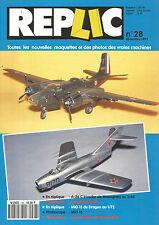 REPLIC N°28 A-26 C INVADER MONOGRAM / DOUGLAS INVADER / MIG 15 DRAGON / IPMS