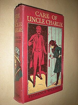 Care Of Uncle Charlie. Florence Willmot. Circa 1920s. Hb. Geselecteerd Materiaal
