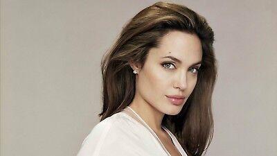Angelina Jolie Silk Poster 24 X 14 inch