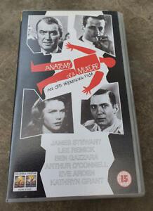 ANATOMY-OF-A-MURDER-James-Stewart-Lee-Remick-George-C-Scott-PAL-VHS-Video