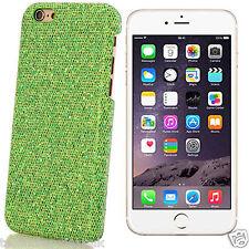 Cromo Brillo Funda Glitter Bling Cubierta Trasera Apple Iphone 6 6 Plus 5 5s 4 4s