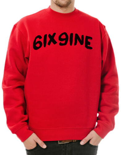 Tekashi 6ix9ine Brush Logo Sweatshirt 6ix9ine Day69 Gummo Keke Kooda ScumGang
