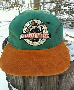 Werner Valley Shooting Fields Hat Nebraska Hunting Leather ...