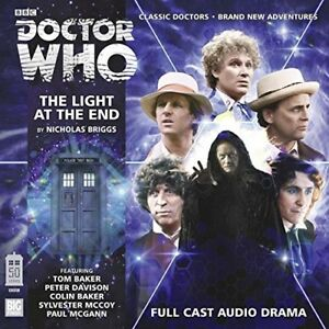 NICHOLAS-BRIGGS-DOCTOR-WHO-THE-LIGHT-AT-THE-END-2-CD-NEW