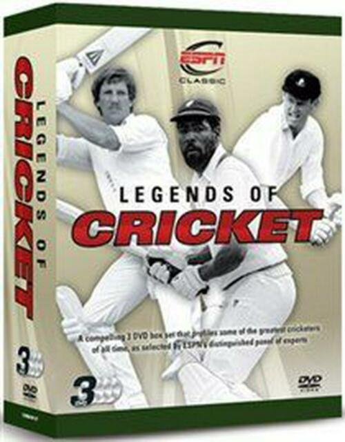 Legends Of Cricket Triple Pack England, West Indies, South Africa 3 DVD Set ESPN