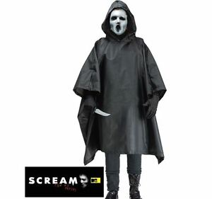 Adulto-Grito-TV-Series-Bata-Mascarilla-LIVING-DEAD-Hombres-Disfraz-De-Halloween-Disfraz