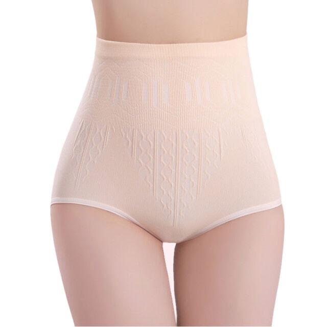 Auranso High Waist Shapewear for Women Tummy Control Knickers Body Shaper Briefs Underwear Seamless Slimming Shaping Panties