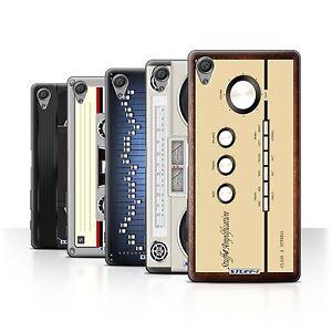 STUFF4-Back-Case-Cover-Skin-for-Sony-Xperia-X-Performance-Retro-Tech