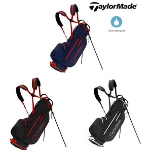 TaylorMade-2020-Litetech-Waterproof-Dual-Strap-Carry-Stand-Golf-Bag