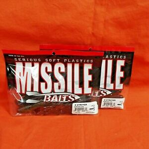Missile Baits D Stroyer Creature MBDS70-CNGR Candy Grass