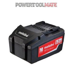 Metabo-625592000-18v-5-2Ah-Lithium-Ion-Battery