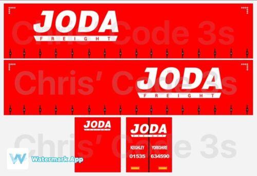 1//50 1//76 1//148 JODA Freight Code 3 Adhesive Vinyl Trailer Decal