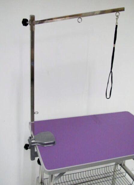 Viola 38  IMPERATORE Piegare Tavolo da da da Toelettatura per cane piatto toelettatura + braccio & CAPPIO ritenuta d06509