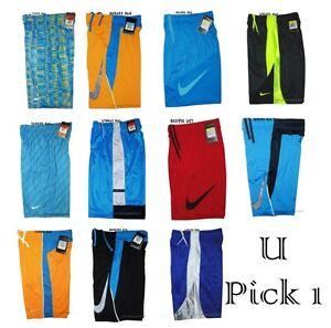 e492de0a3aed Image is loading Nike-Basketball-Shorts-Youth-Boys-Athletic-Short-Pants-