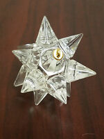 Holiday Christmas Tree Party Decor Silver Star Ornament Crystal Excellent Item