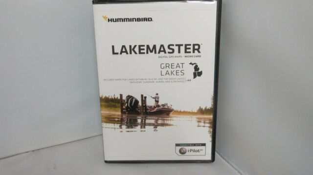 Humminbird 600015-7 LakeMaster Great Lakes V4 Map Card on maps for hp, maps for magellan, maps for tomtom, maps for garmin,