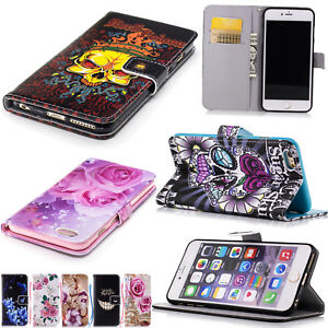 Women Flip Leather Skin Silicon Wallet Slot Case Cover For iphone 6 ... 6a1ca72d4e