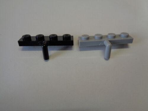 choose color 30343 LEGO Plaque Crochet Plate Modified 1x4 Arm Down Inversée