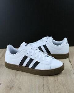 Adidas-Scarpe-Sportive-Sneakers-DAILY-2-0-Uomo-Bianco-Pelle