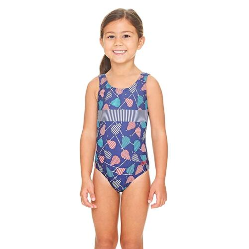 Zoggs Pears Scoopback Swimsuit Navy//Multi