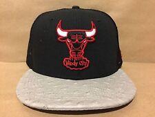 New Era NBA Chicago Bulls Ostravize 9FIFTY Strapback Mesh Cap Black/Gray/Red NWT