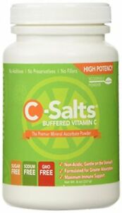 C-Salts GMO FREE Buffered Vitamin C Powder (1000mg - 4000mg) 40+ Servings