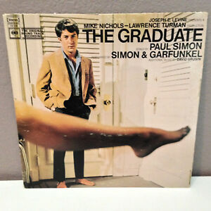 SIMON-amp-GARFUNKEL-The-Graduate-Soundtrack-Vinyl-Record-LP-VG