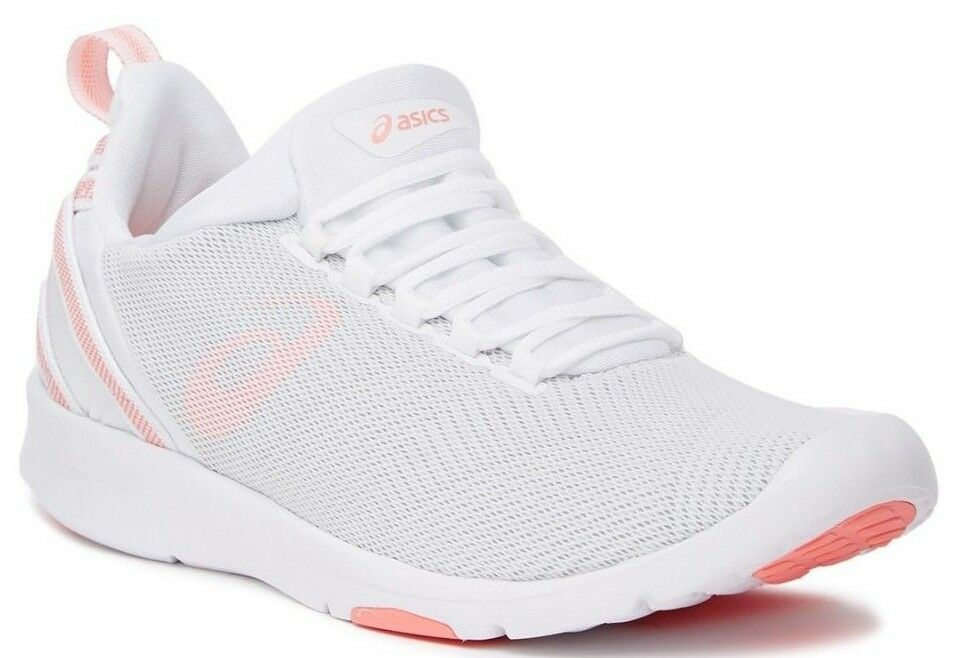 ASICS GEL-Fit Sana 3 Cross Training shoes White Begonia Pink Glacier Grey Sz 7.5