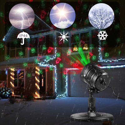 Christmas Projection Lights.Waterproof Christmas Projection Lights With Red Green With Remote Control Bt Ebay