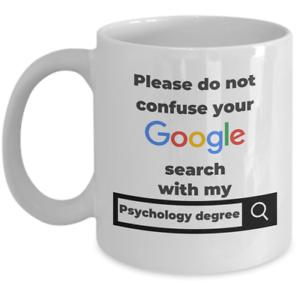 Psychologist coffee mug gift Don't