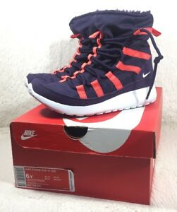 buy popular 06ce8 86abe Image is loading NEW-Nike-Roshe-One-HI-Boots-Shoes-Womens-