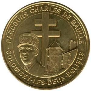 52-1788 - JETON TOURISTIQUE MDP - Parcours Charles de Gaulle - Colombey - 2014.4