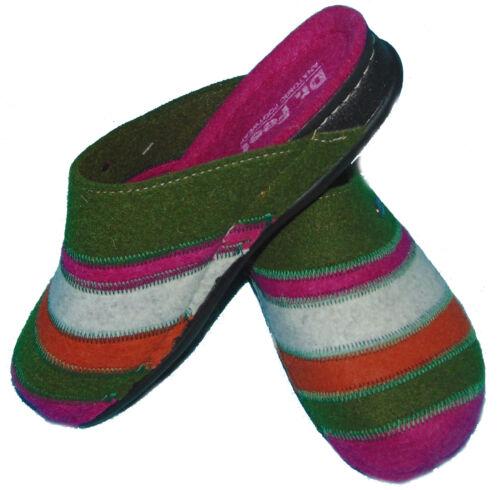 Feet Slippers Wool Felt Slippers Schlupfer Mules Slippers 36-42 Dr