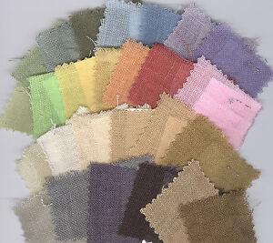 30-ct-Weeks-Dye-Works-Hand-Dyed-Linen-U-CHOOSE-COLOR