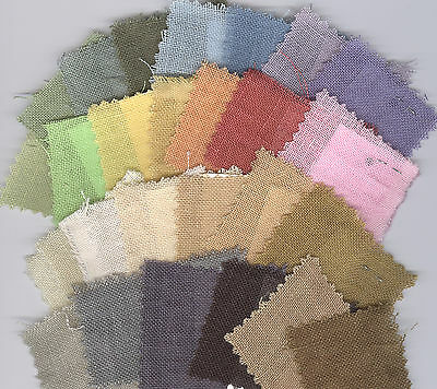 Tin Roof Weeks Dye Works Hand-Dyed Linen Cross Stitch Fabric 30 ct