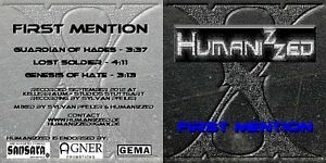 """HUMANIZZED - """"FIRST MENTION"""" EP - THE HEAVY METAL TANK FROM SWABIA!!,, - Schorndorf, Deutschland - HUMANIZZED - """"FIRST MENTION"""" EP - THE HEAVY METAL TANK FROM SWABIA!!,, - Schorndorf, Deutschland"""