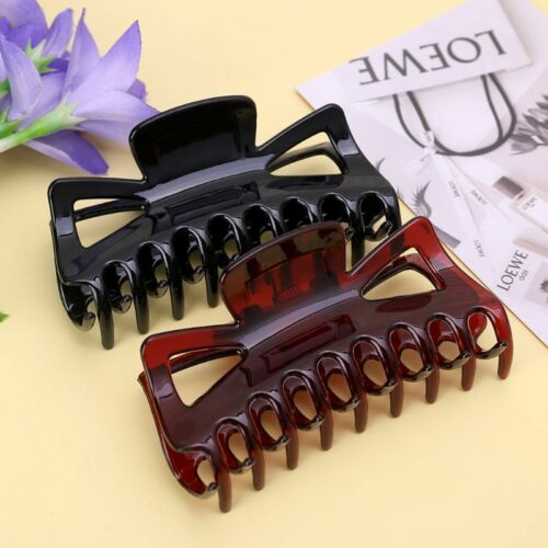 11cm Large Hair Clamps Claws Clip Lady Female Casual Big Barrette Crab Hairclips